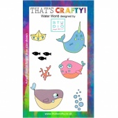 That's Crafty! Clear Stamp Set - Water World