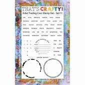 That's Crafty! Clear Stamp Set - ATCoins Stamp Set - Set 11