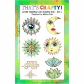 That's Crafty! Clear Stamp Set - ATCoins Stamp Set - Set 7