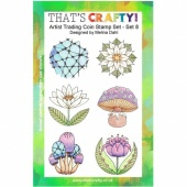 That's Crafty! Clear Stamp Set - ATCoins Stamp Set - Set 8