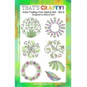 That's Crafty! Clear Stamp Set - ATCoins Stamp Set - Set 9