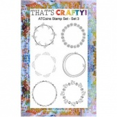 That's Crafty! Clear Stamp Set - ATCoins Stamp Set - Set 3