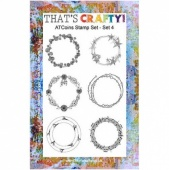 That's Crafty! Clear Stamp Set - ATCoins Stamp Set - Set 4