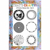 That's Crafty! Clear Stamp Set - ATCoins Stamp Set - Set 5