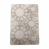 That's Crafty! Surfaces Bits and Pieces Greyboard Sheet - Large Clocks