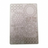 That's Crafty! Surfaces Bits and Pieces Greyboard Sheet - Large Cogs