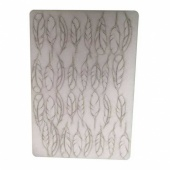 That's Crafty! Surfaces Bits and Pieces Greyboard Sheet - Small Feathers