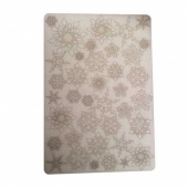 That's Crafty! Surfaces Bits and Pieces Greyboard Sheet - Small Snowflakes