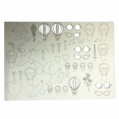 That's Crafty! Surfaces Craftyboard - Balloons and Bulbs