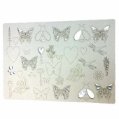 That's Crafty! Surfaces Craftyboard - Bees and Butterflies