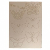 That's Crafty! Surfaces Craftyboard - Butterflies
