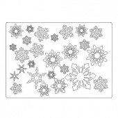 That's Crafty! Surfaces Craftyboard - Snowflakes
