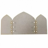 That's Crafty! Surfaces MDF Triptych - Arch