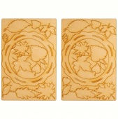 That's Crafty! Surfaces MDF Autumn Wreaths - Pack of 2