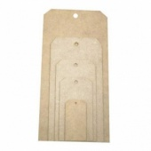 That's Crafty! Surfaces MDF Tags - Sampler Pack
