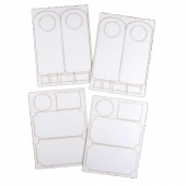 That's Crafty! Surfaces White/Greyboard Plaque & Doorhangers Set