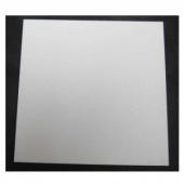 That's Crafty! Surfaces White/Greyboard Panels - 4x4 - Square Corners - Pack of 5