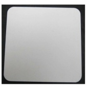 That's Crafty! Surfaces White/Greyboard Panels - 4x4 - Rounded Corners - Pack of 5