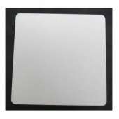 That's Crafty! Surfaces White/Greyboard Panels - 8x8 - Rounded Corners - Pack of 5