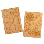 That's Crafty! Surfaces MDF Ornaments