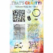That's Crafty! Clear Stamp Set - Textures Collection - Set 2