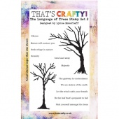 That's Crafty! Clear Stamp Set - The Language of Trees Set 2