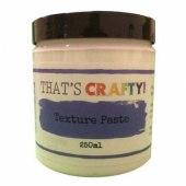 That's Crafty! Texture Paste