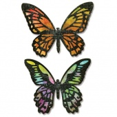 Sizzix Thinlits Die Set By Tim Holtz - Detailed Butterflies