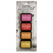 Tim Holtz Distress Archival Mini Ink Kit - Kit 1