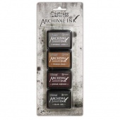 Tim Holtz Distress Archival Mini Ink Kit - Kit 3