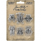 Tim Holtz Idea-ology Metal Adornments - Entomology