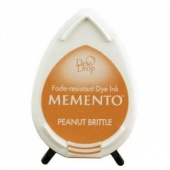 Memento Dew Drop Ink Pad - Peanut Brittle