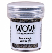 WOW! Embossing Powder - Black Magic
