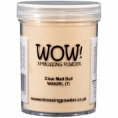 WOW! Embossing Powder - Clear Matt Dull (R) - Large Jar