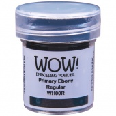 WOW! Embossing Powder - Ebony (R)