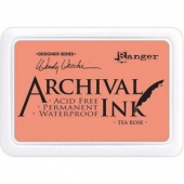 Ranger Archival Ink Pad Designer Series - Tea Rose