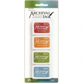 Ranger Wendy Wecchi Mini Archival Ink Pad Set - Set 4