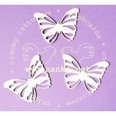 Wycinanka Chipboard - Open Butterfly