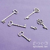 Wycinanka Chipboard - Keys
