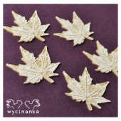 Wycinanka Chipboard - Small Leaves 2