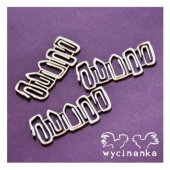 Wycinanka Chipboard - Paperclips