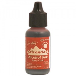 Tim Holtz Alcohol Ink - Terra Cotta