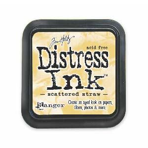Tim Holtz Distress Ink Pad - Scattered Straw