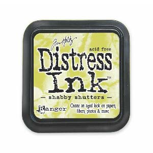 Tim Holtz Distress Ink Pad - Shabby Shutters
