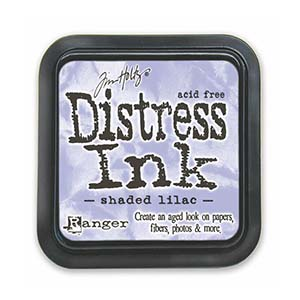 Tim Holtz Distress Ink Pad - Shaded Lilac