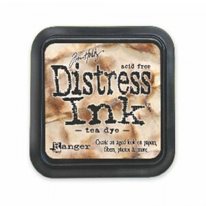 Tim Holtz Distress Ink Pad - Tea Dye